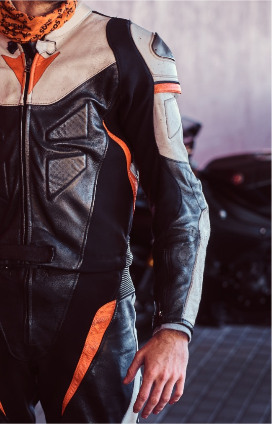Motorbike leather alterations