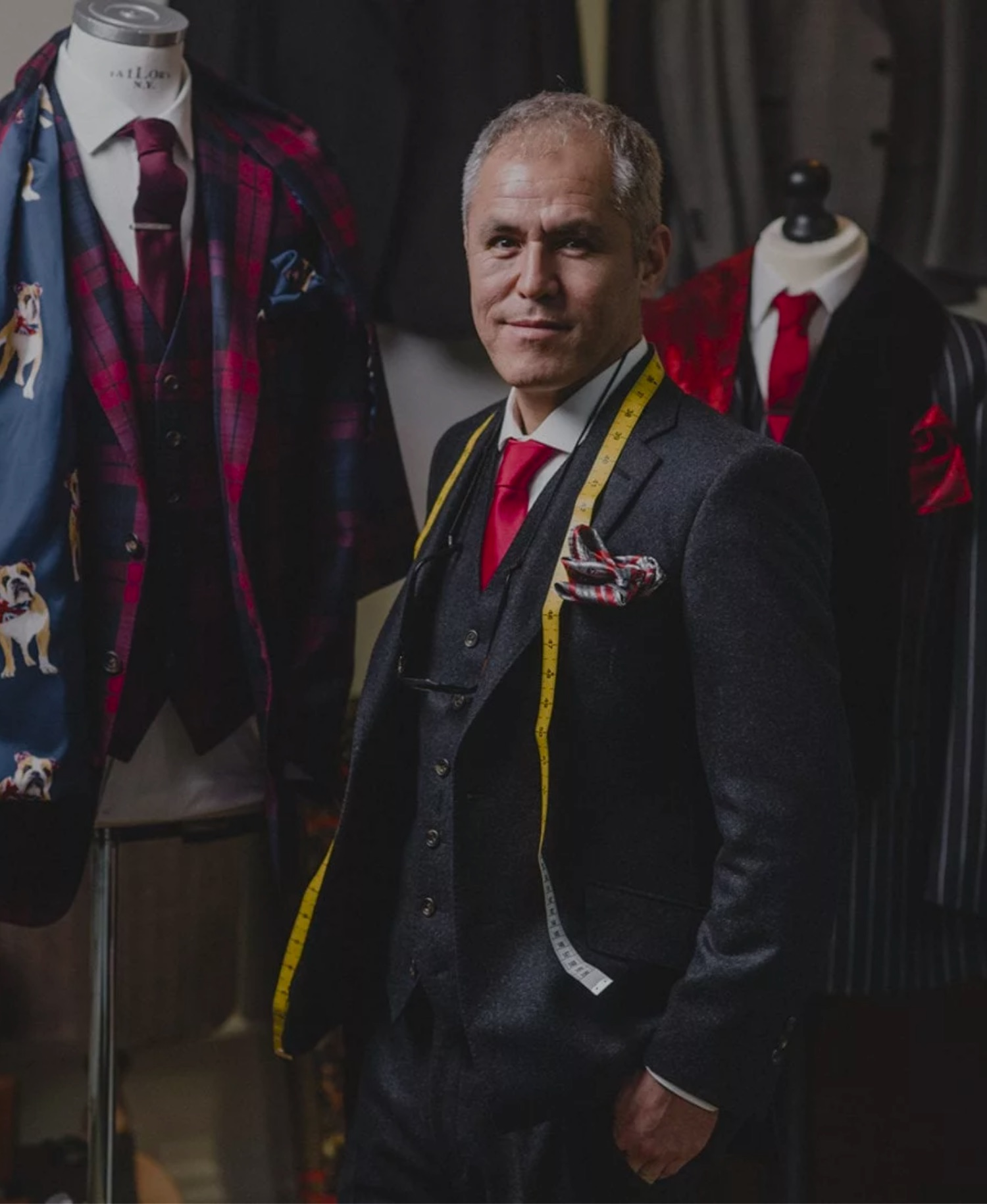 Sharif the tailor in Exeter