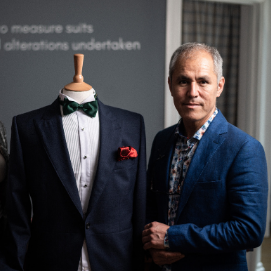 Professional advice at every step at Sharif Tailoring in Exeter